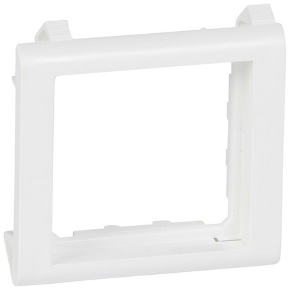 Thin wall support Mosaic narrow 2 modules white
