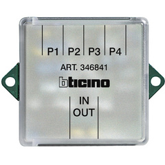 FLOOR SHUNT FOR VIDEO ENTRY PHONE (BTICINO)