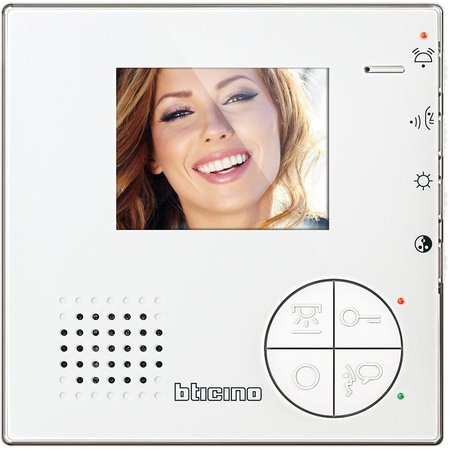 i bticino video internal unit c100 v12b, 3,5\