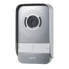 EXTERNAL VIDEO INTERCOM UNIT, option of plugging in of an additional camera, lock, sliding door activation, wide angle