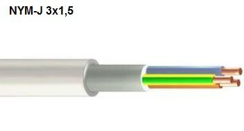Sehr Kabel NYM-J 3x1,5 instalacijski kabel trd :: Comfort-el PP86