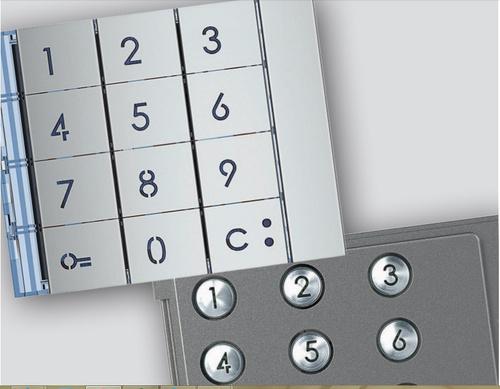 bticino sfera keypad module 353000 comfort el. Black Bedroom Furniture Sets. Home Design Ideas