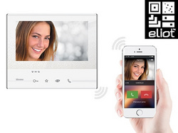 CLASSE 300X13E Touch Screen handsfree video internal units with Wi-Fi, 344642