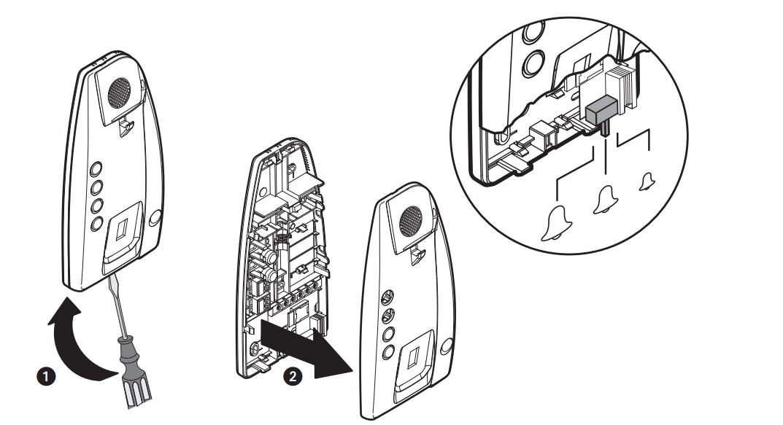 intercom bticino  audio intercom set  2 wire    comfort