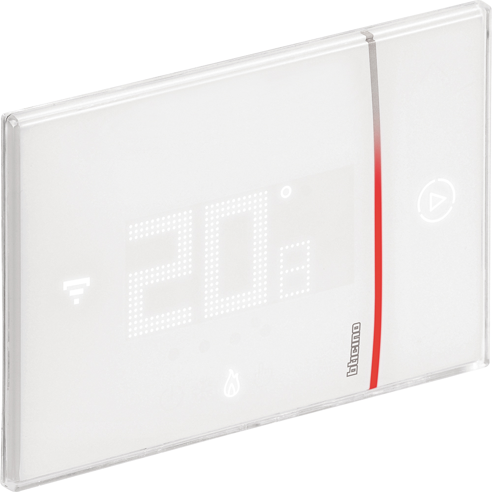 wifi smarther connected thermostat bticino x8000 comfort el