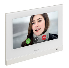 "Bticino 3488W Hometouch - touch screen (7"" and white frame) to manage smart houses"