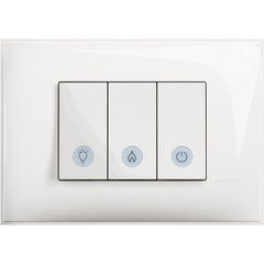Bathroom Switch 3 modules - Complete product