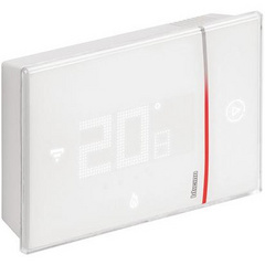 Smarther connected surface-mounting thermostat Legrand with dedicated Application and Wi-Fi connection